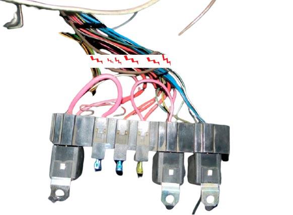 Проблемы с контактом электрических цепей