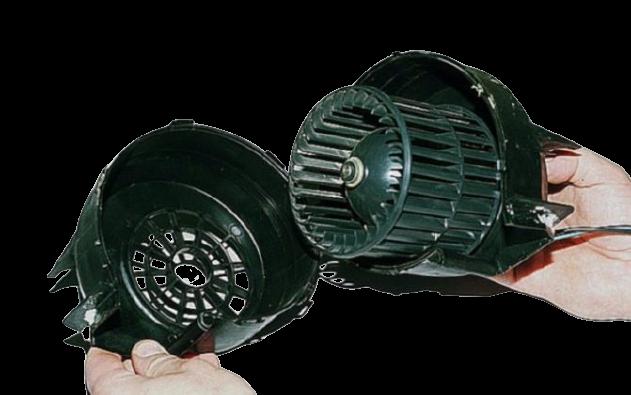 Неисправность вентилятора печки ваз 2114